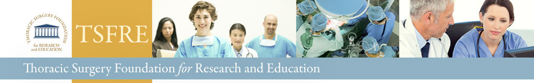 TSFRE – Thoracic Surgery Foundation for Research and Education